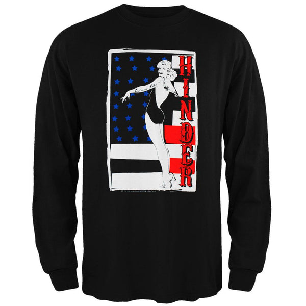 Hinder - Pin Up Girl Long Sleeve T-Shirt