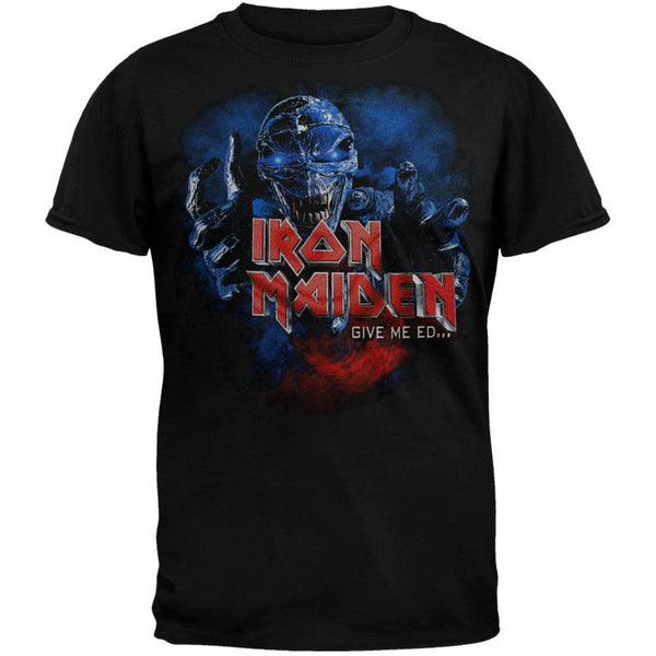 Iron Maiden - Give Me Ed Soft Youth T-Shirt