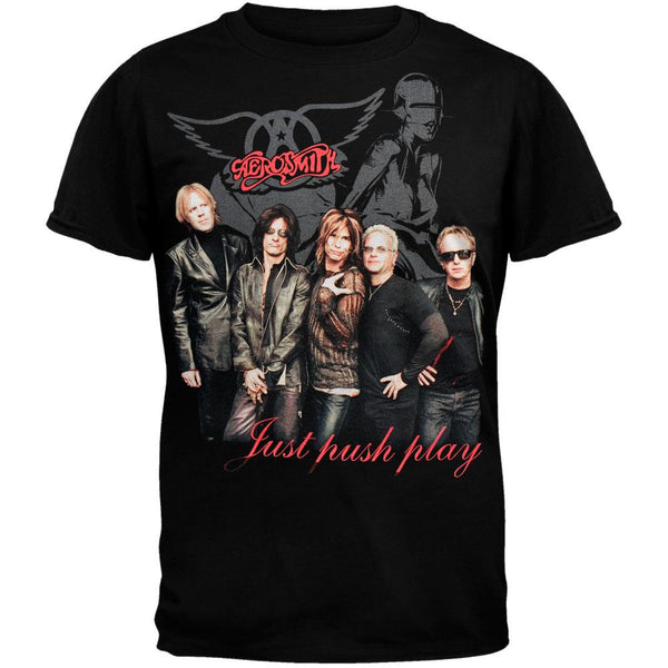 Aerosmith - Black Photo T-Shirt