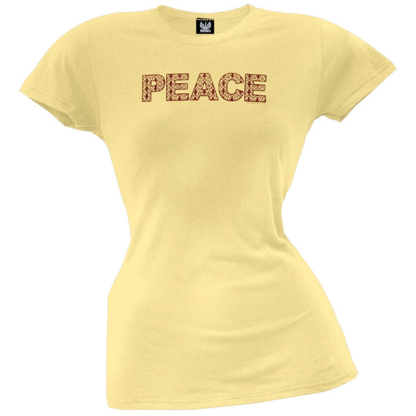 Peace Juniors T-Shirt