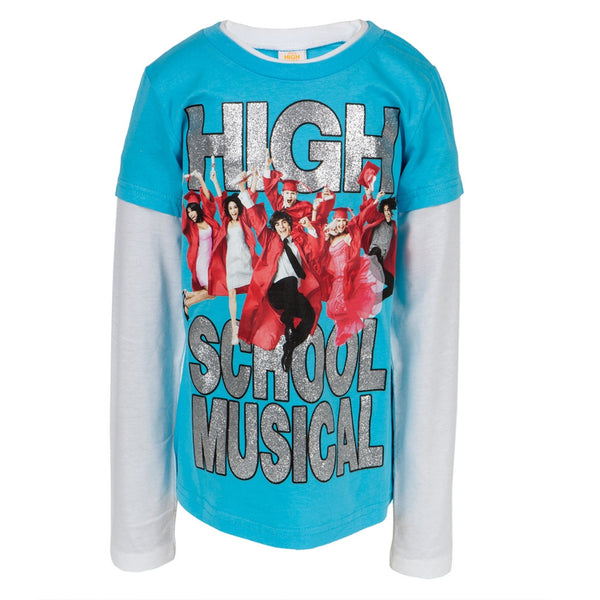 High School Musical - Grad Jump Girls Youth 2fer Long Sleeve T-Shirt
