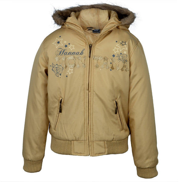 Hannah Montana - Gold Hannah Youth Jacket