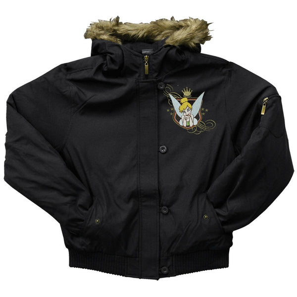 Tinkerbell - Ornate Crest Juniors Jacket