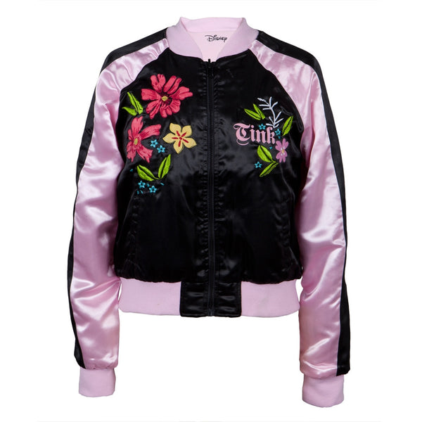Tinkerbell - Flowers Reversible Juniors Track Jacket