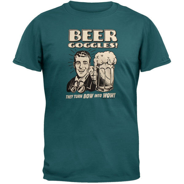 Beer Goggles Green T-Shirt