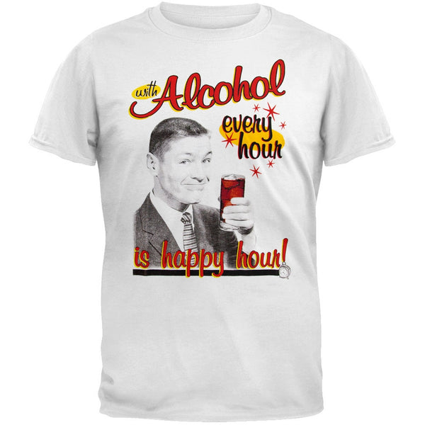 Alcohol Happy Hour T-Shirt