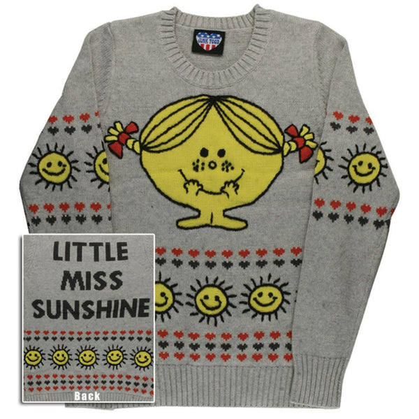 Little Miss - Miss Sunshine Juniors Crew Neck Sweater