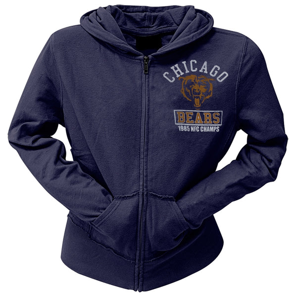 Chicago Bears - 85 NFC Champs Juniors Zip Hoodie