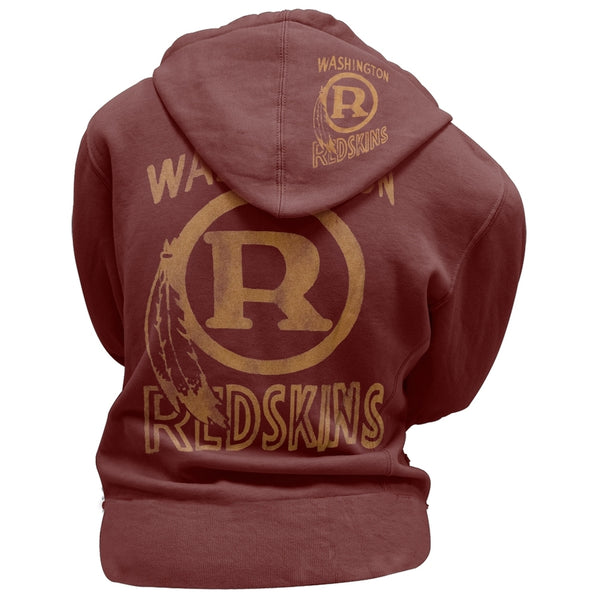 Washington Redskins - Classic Logo Juniors Zip Hoodie