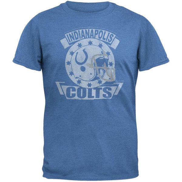 Indianapolis Colts - Distressed Helmet Soft T-Shirt