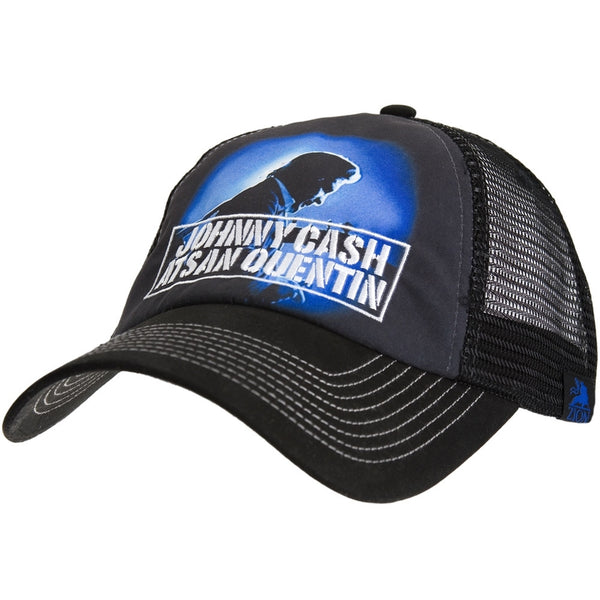 Johnny Cash - San Quentin Trucker Cap