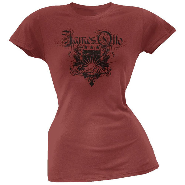 James Otto - Burst Crest Juniors T-Shirt