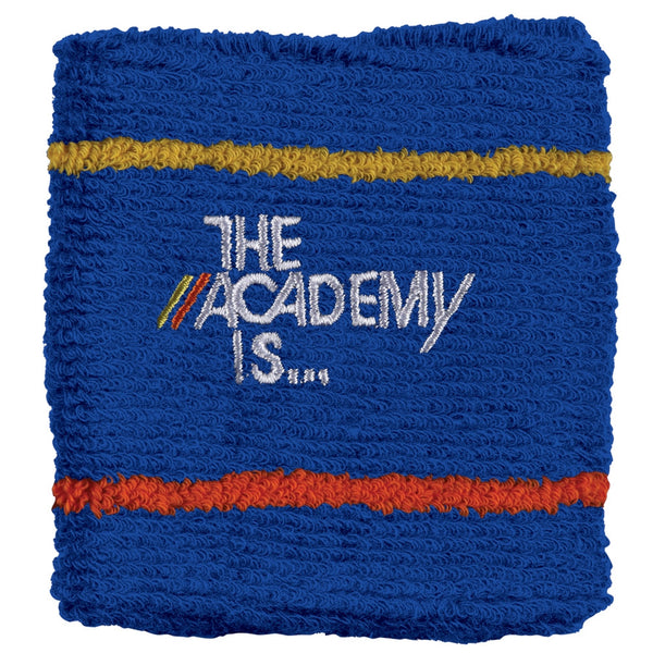 The Academy Is - Logo Blue Wristband