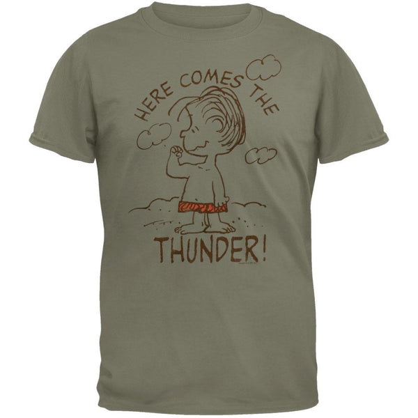 Peanuts - Here Comes The Thunder Soft T-Shirt