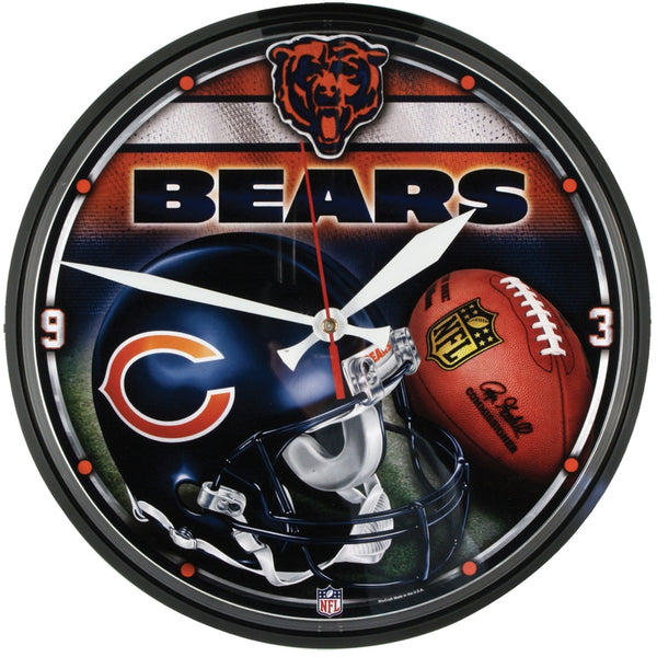 Chicago Bears - Collage Clock