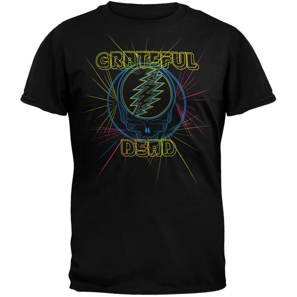 Grateful Dead - Laser Light Show Soft T-Shirt