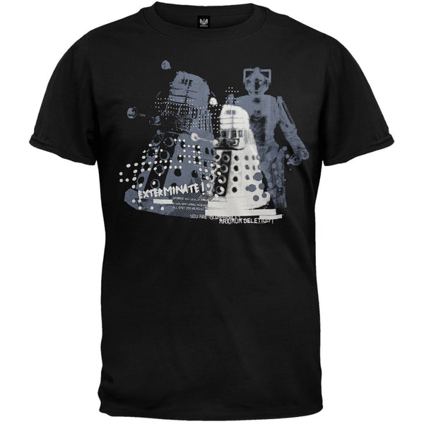 Doctor Who - Dalek & Gherman Overlap T-Shirt