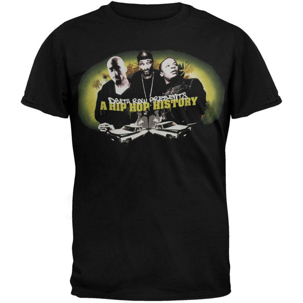 Death Row Records - Hip Hop History Group Shot T-Shirt