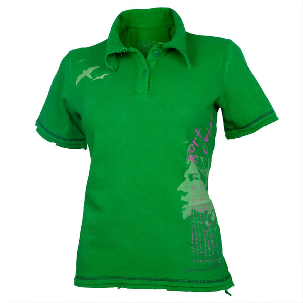 Nirvana Kurt Cobain Green Polo Shirt