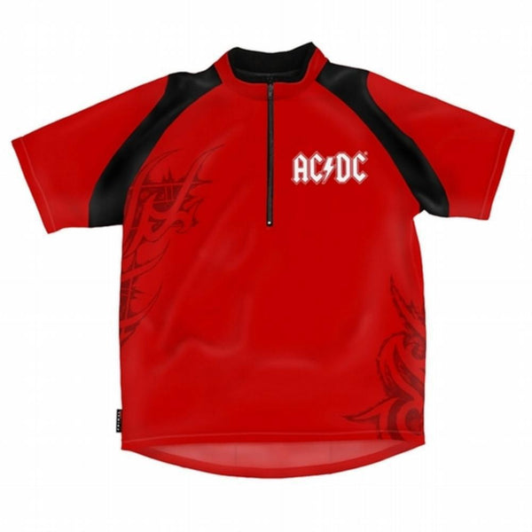 AC/DC - Logo Loose Fit Cycling Jersey