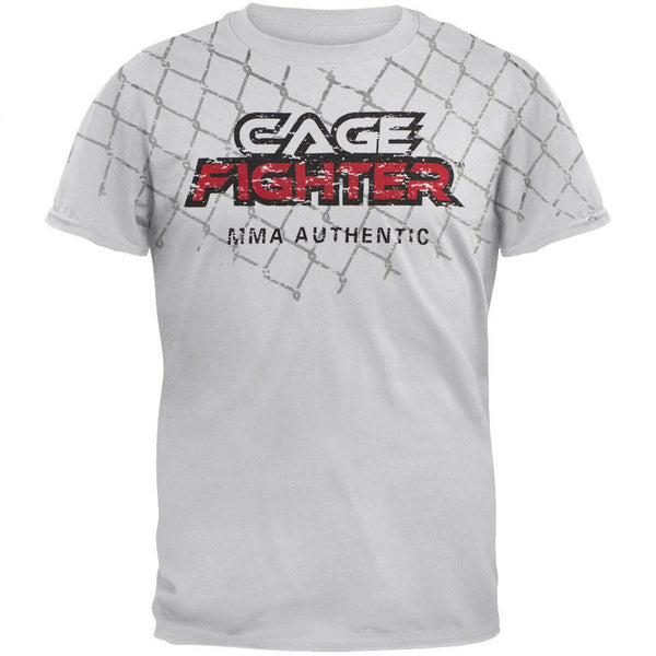 Cage Fighter - Big Cage Soft T-Shirt