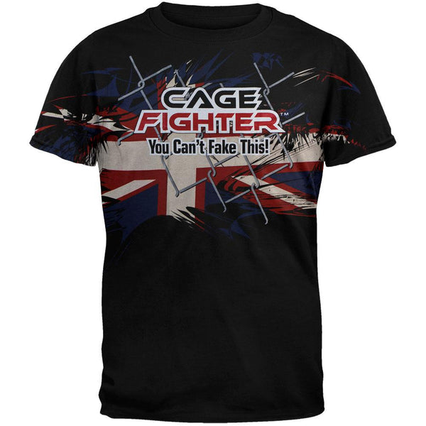Cage Fighter - Michael Bisping Blast T-Shirt