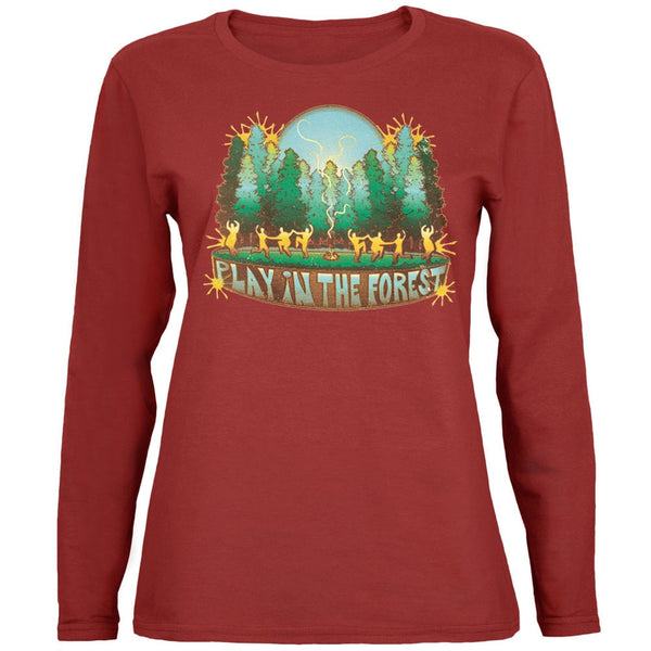 Play In The Forest Juniors Organic Long Sleeve T-Shirt