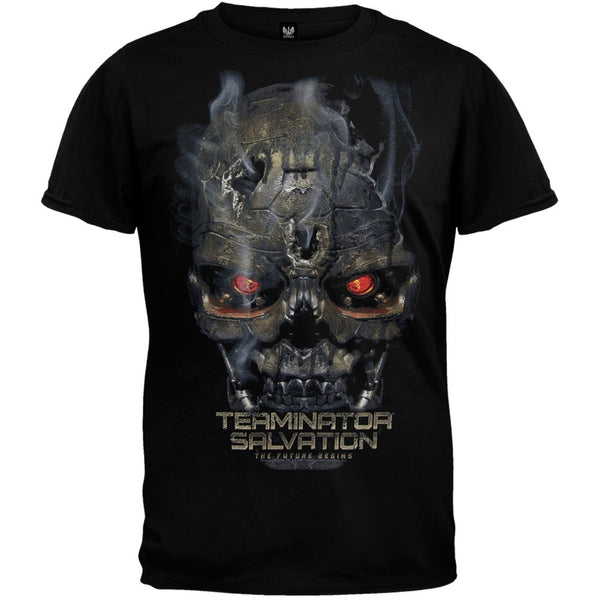 Terminator Salvation - Black Skull T-Shirt