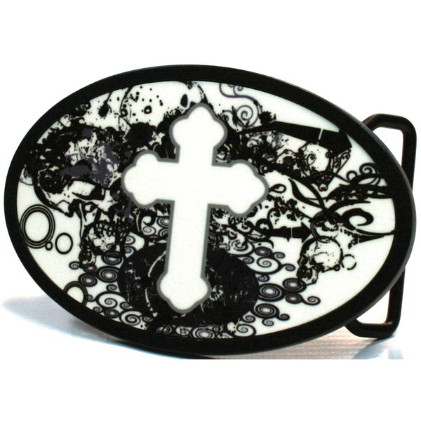 Orthodox Chaos Oval Belt Buckle