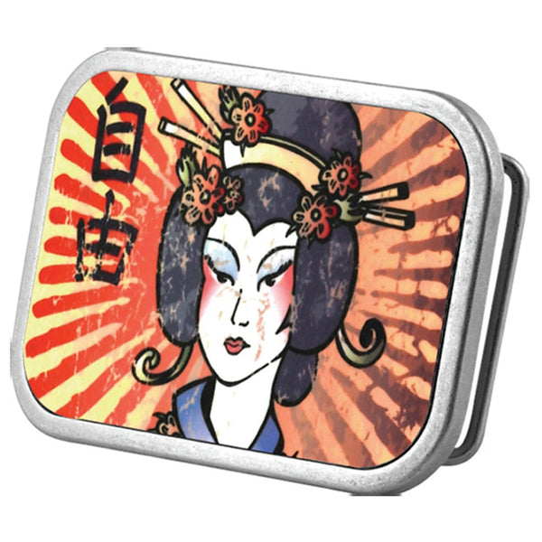 Geisha Belt Buckle