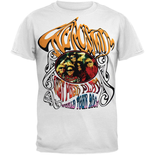 Aerosmith - Hippie White T-Shirt