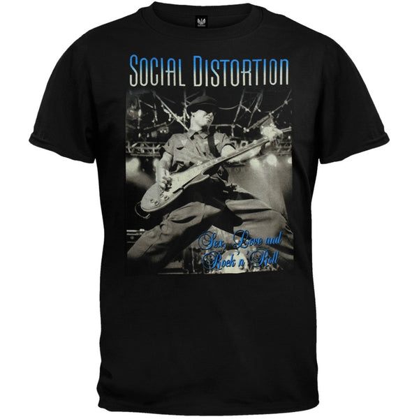 Social Distortion - Sex Love T-Shirt