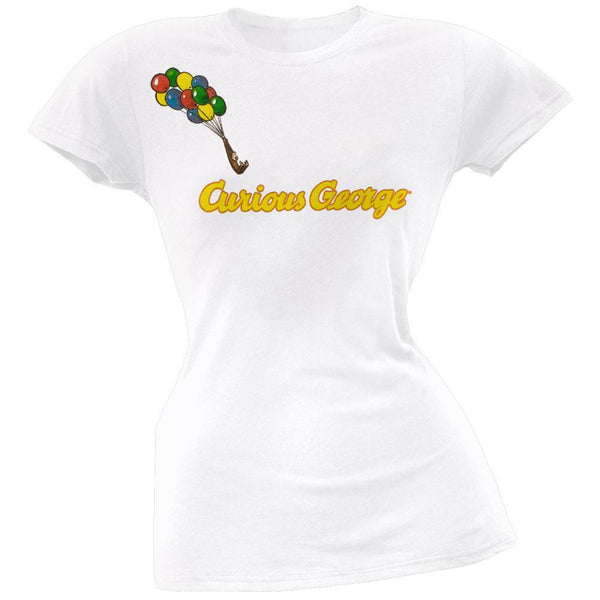Curious George - Float On Juniors T-Shirt