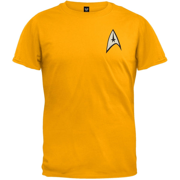 Star Trek - Command Uniform Costume T-Shirt