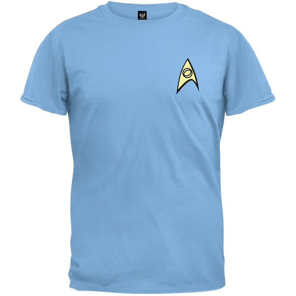 Star Trek - Science Uniform T-Shirt