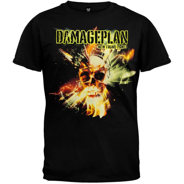 Damageplan - Electric Skull T-Shirt
