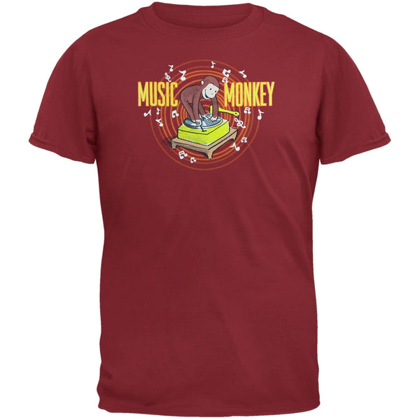 Curious George - Music Monkey Youth T-Shirt