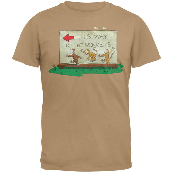 Curious George - This Way Youth T-Shirt