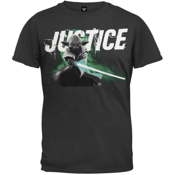 Star Wars - Justice Yoda Gel Print Youth T-Shirt