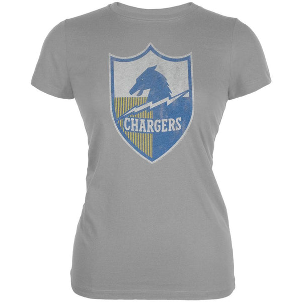 San Diego Chargers - Distressed Logo Juniors T-Shirt
