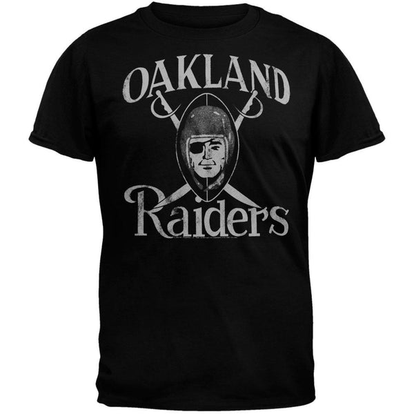 Oakland Raiders - Large Logo Soft T-Shirt