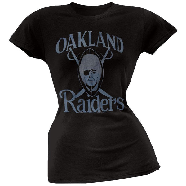 Oakland Raiders - Large Logo Juniors T-Shirt