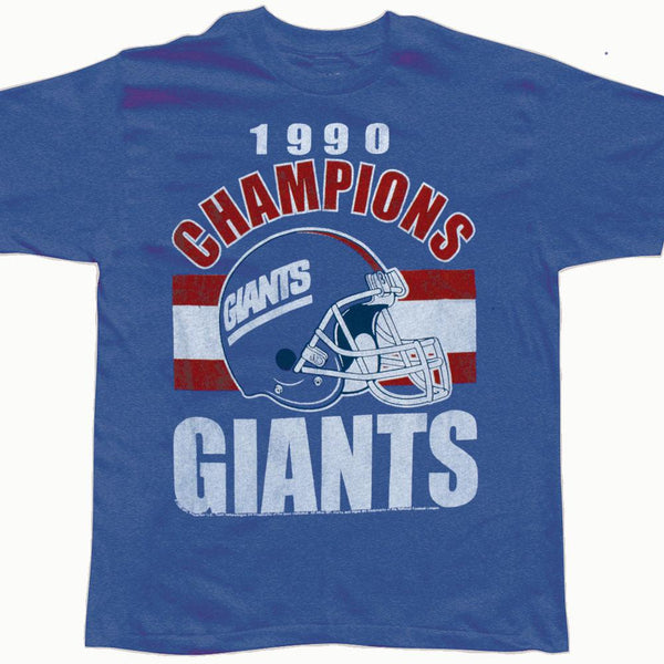 New York Giants - 1990 Champions Soft T-Shirt