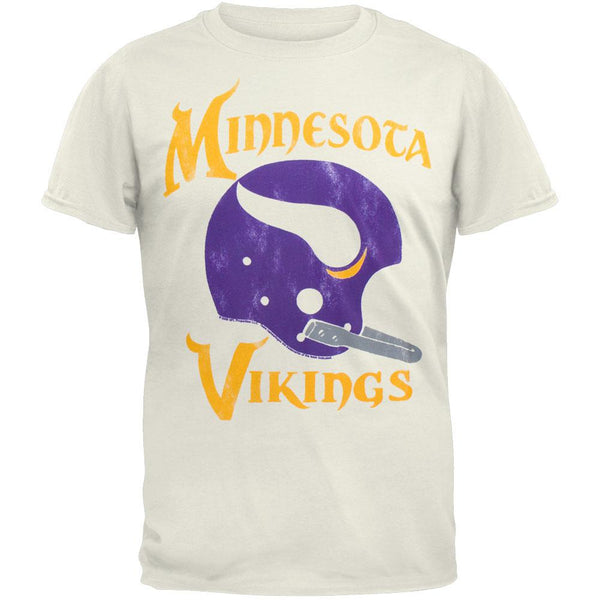 Minnesota Vikings - Helmet Soft T-Shirt
