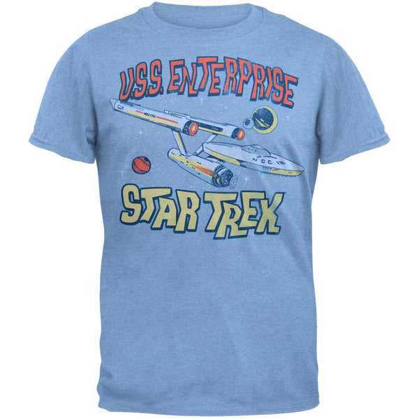 Star Trek - USS Enterprise Soft T-Shirt