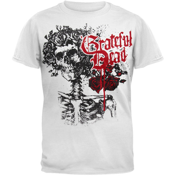 Grateful Dead - Bertha Soft White T-Shirt