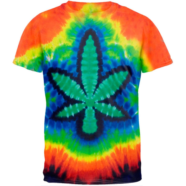 Pot Leaf Tie Dye T-Shirt
