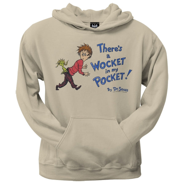 Dr. Seuss - Wocket Cover Distressed Hoodie