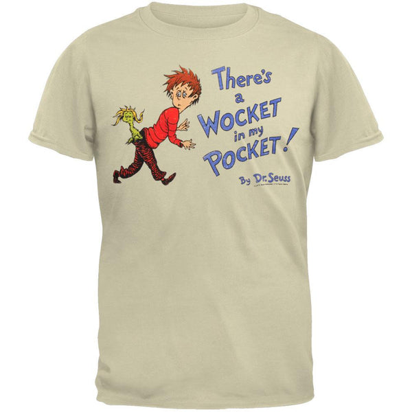 Dr. Seuss - Wocket Cover Distressed Youth T-Shirt