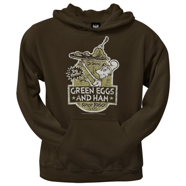 Dr. Seuss - Green Eggs Label Hoodie